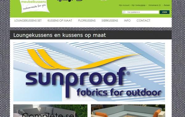 Website Meubelkussens.nl