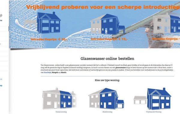 Glazenwasser Online